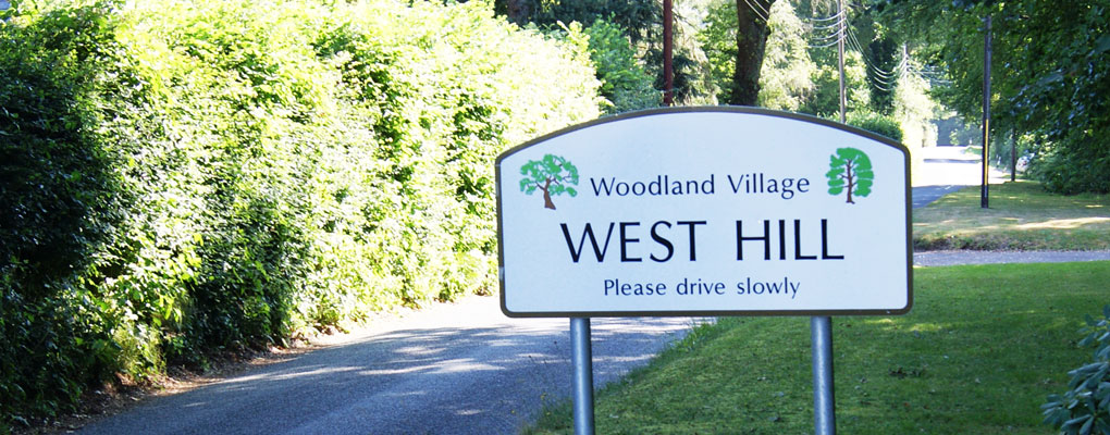 westhill-sign
