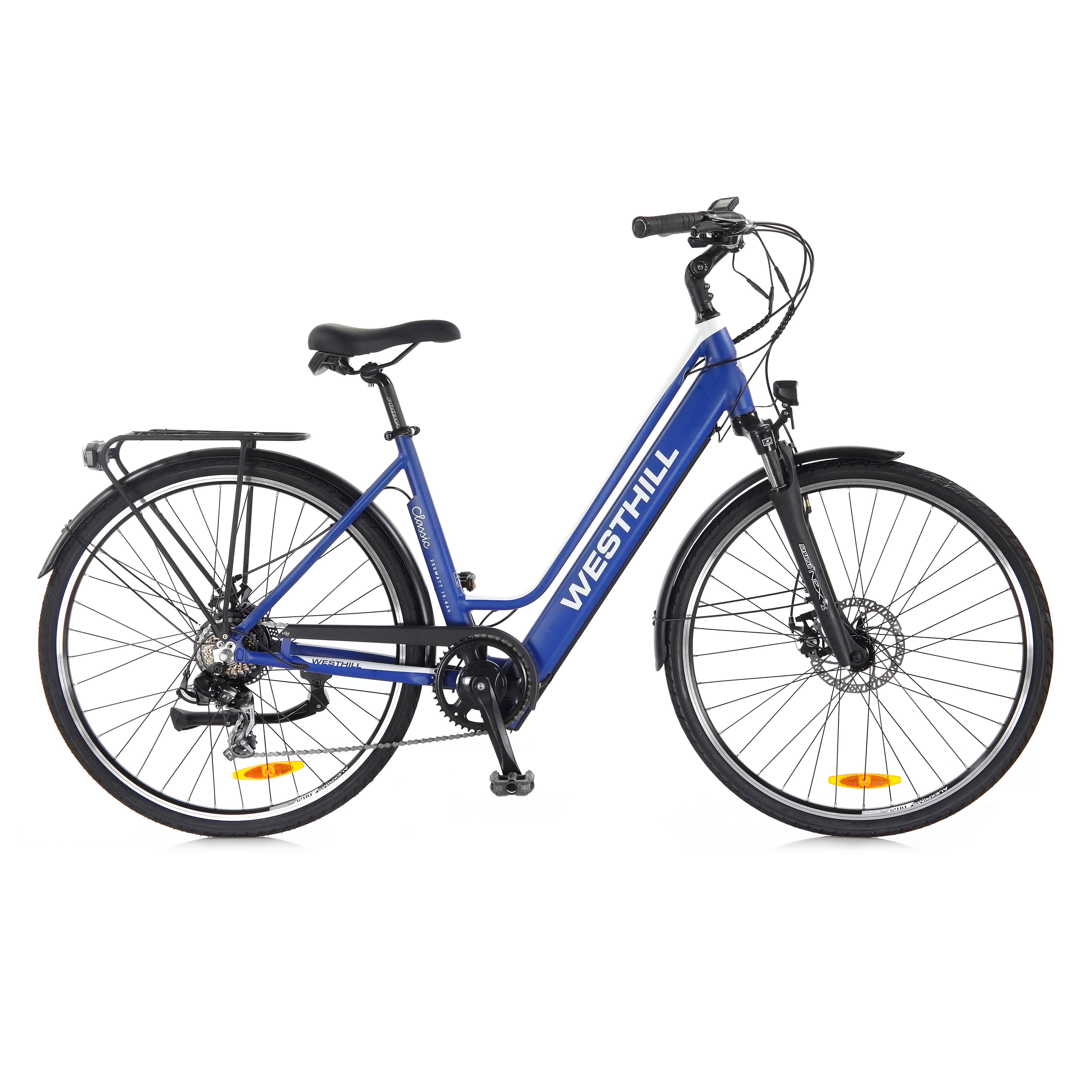 westhill classic blue e-bike
