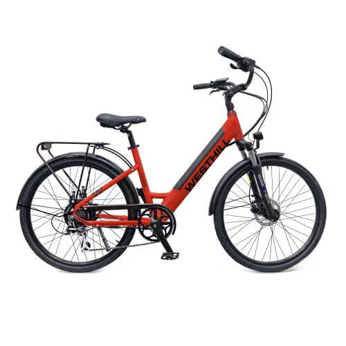 Westhill Classic ST Electric Bike - Red