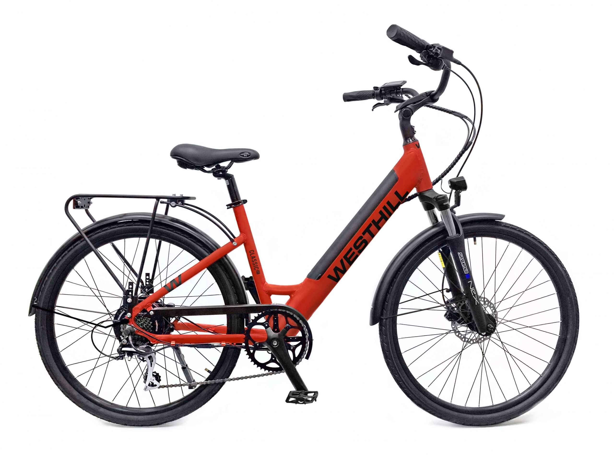 westhill step through ebike